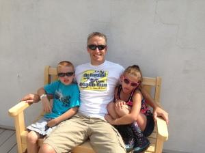 Marc and his kiddos