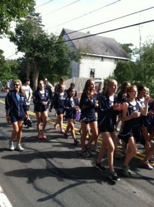 SHS Cross Country Team with Coach Lori Horan