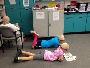 Bald - kids reading 2