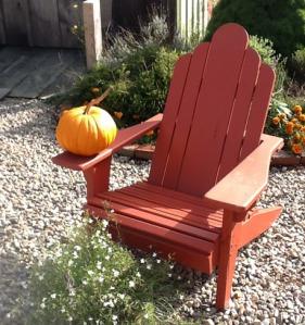 Chair & Pumpkin