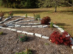 Sundial Garden #2 Oct 2014