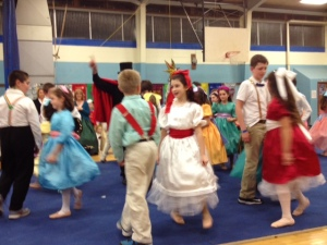 Clara dancing