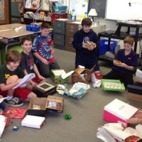 """""""Boxes of Hope"""" Project at Wing"""