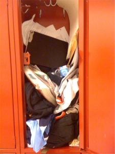Messy Locker