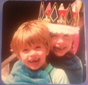 Nicole & Kath as kiddos