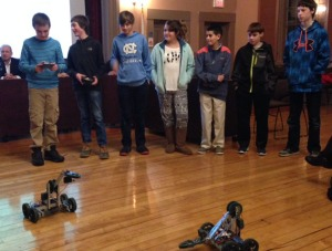 Robotics Club #2 Feb 2015
