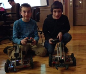 Robotics Kids #3 Feb 2015