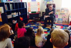 Marc with preschoolers #1