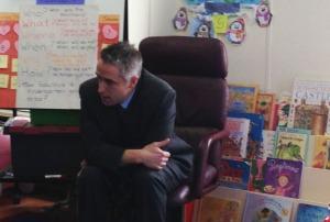 Marc with preschoolers #5