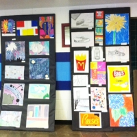 Art and Music this week at SHS!