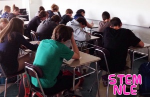 STEM Academy Latin Scholars sit for the Exam