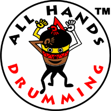 All Hands Drumming logo #2