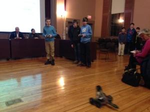 Robotics in Action #2 Feb 2015