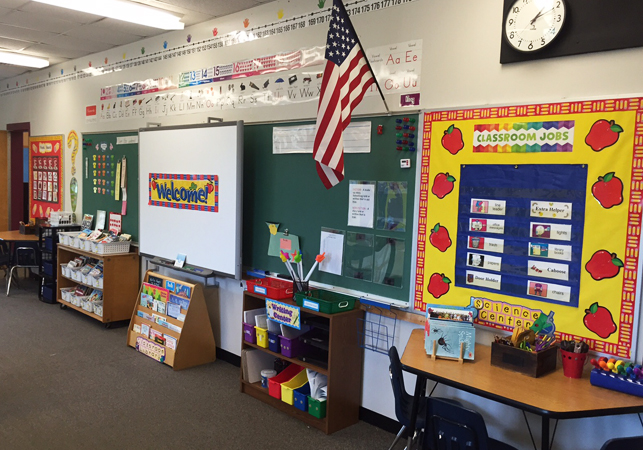 Classroom Decor Sites ~ Eager teachers have created beautiful classrooms at