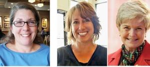Beth Cummings Oman, Stephanie Hall, Nancy Crossman