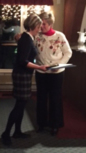 Ms. McGrath was congratulated by Nancy Crossman, School Committee chair