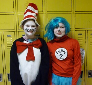 2 students in costume #2