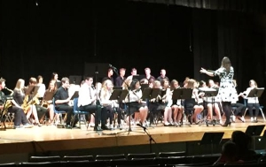 It really felt like spring at the STEM Academy/SHS Spring Concert