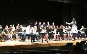 It really felt like spring at the STEM Academy/SHS Spring Concert