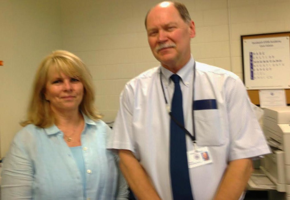 Debbie Morris and Gil Newton, Director of The STEM Academy