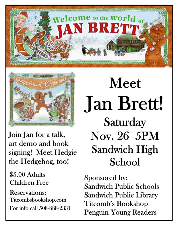 jan-brett-poster-gingerbread-christmas-bw