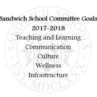 Sandwich School Committee Sets 2017-2018 Goals