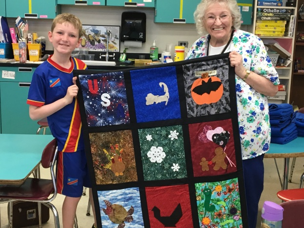 Mary & Quilt #1