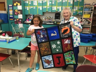 Mary & Quilt #2