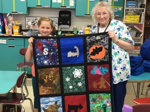 Mary & Quilt #3