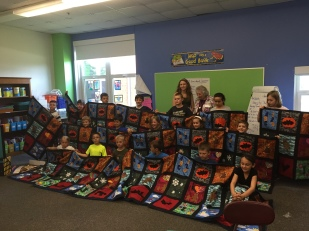 Mary & Roomful of Quilts #2