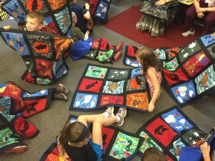 Mary & Roomful of Quilts