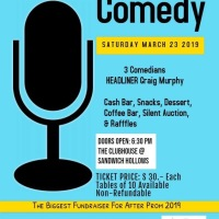 "It's Time for the Annual ""Knight of Comedy"" Fundraiser to benefit the After Prom!"